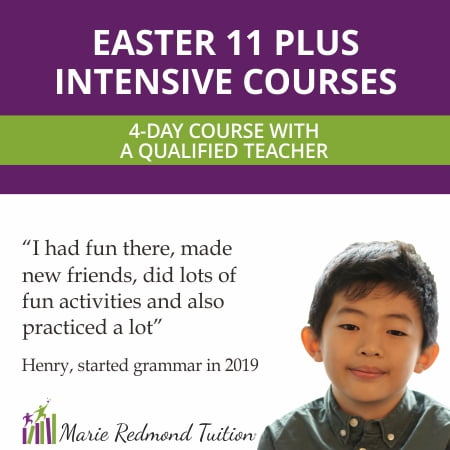 Easter 11 Plus Intensive Course for Buckinghamshire and Berkshire